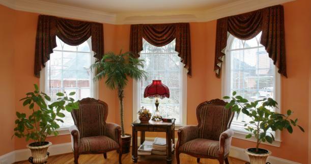 25 Best Bow Window Treatments Ideas On Pinterest