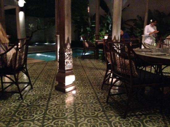 Sadus Tiles hand made cement tiles from Bali in Bambu restaurant Bali - Google Search