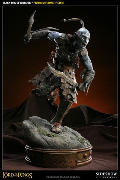 Black Orc of Mordor  Premium Format Figure  Item Number: 300075  Manufactured by: Sideshow Collectibles  Price: US $299.99