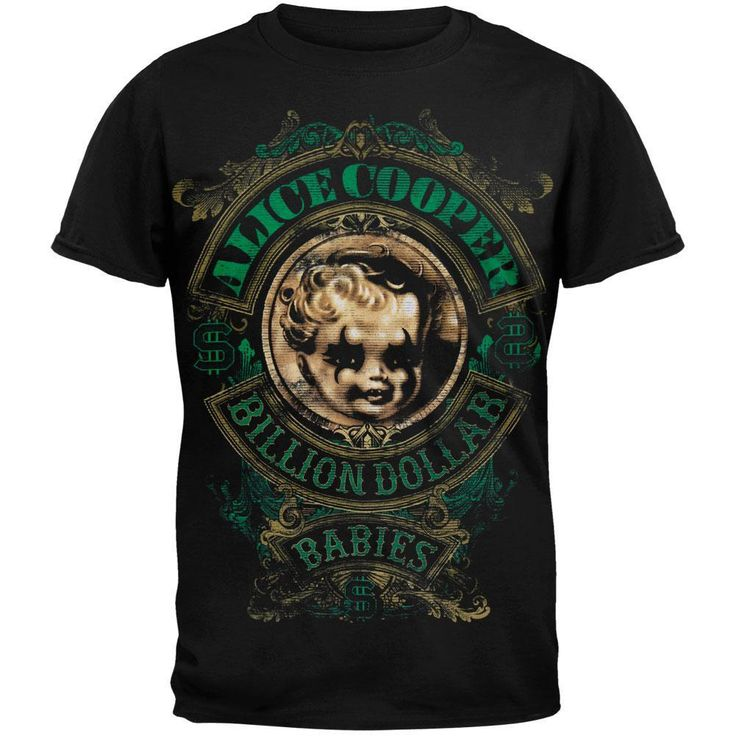 Alice Cooper - Billion Dollar Babies Tour T-shirt