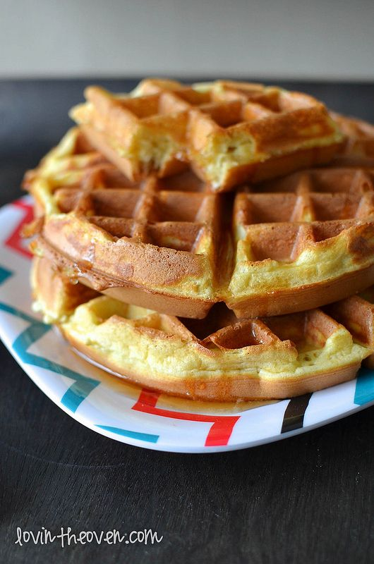 Copycat Hotel Waffles with my Coffee - Lovin' From The Oven