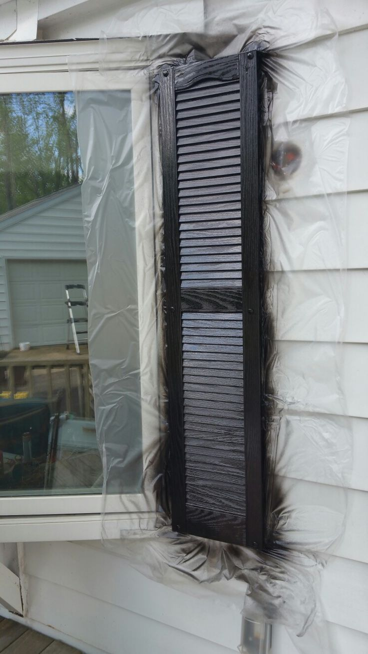 Best 25 paint shutters ideas on pinterest shutter - Best spray paint for exterior shutters ...