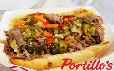 Portillo's Family Recipe - Home of Italian Beef - Recipes, Restaurant Listings and Reviews