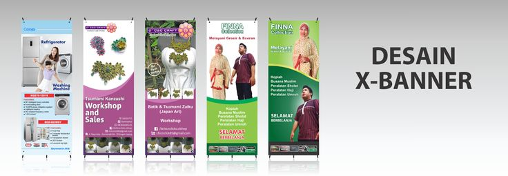 Jasa Desain X-banner - Jasa Desain Grafis Online Hakameru.com
