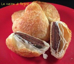 #Cuoricini di sfoglia nutella e pan di stelle!!!#