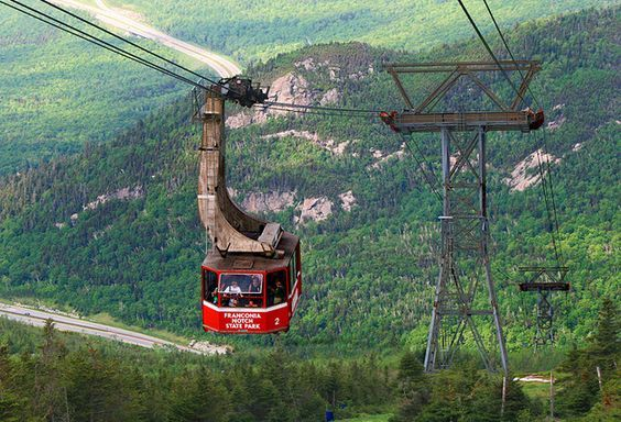 Cannon Mountain Aerial Tramway and Franconia Notch- things to do in New Hampshire