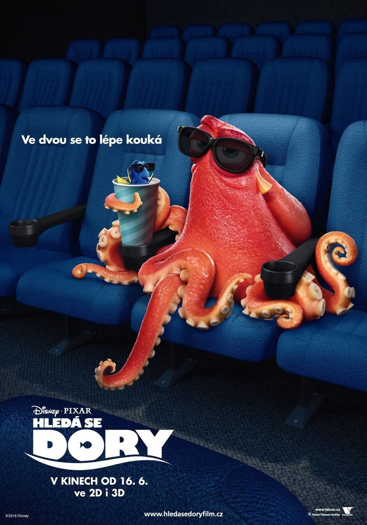 find dori - hank posters | Finding Dory will be released in 2D and 3D on June 17 th in the US. It ...