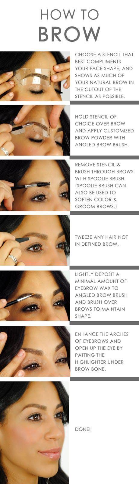 Eyebrow Tutorials   How To   DIY  Makeup   Perfect Eyebrows   Filling In Eyebrows   Brow Arch   Eyebrows