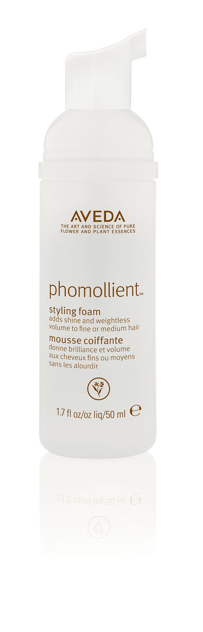 Create curl or give fine hair extra hold with Phomollient.