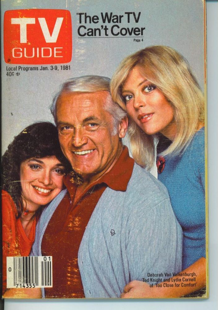 TV GUIDE 1-3-1981 TED KNIGHT~LYDIA CORNELL~GOERGE ELIOT~IRAN WAR~CHICAGO EDITION