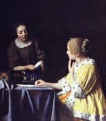 @Unaniem Dame en dienstbode Vermeer 1667-1668 NY Frick Collection #collectievissen #rangenenstanden http://t.co/086jrhBs