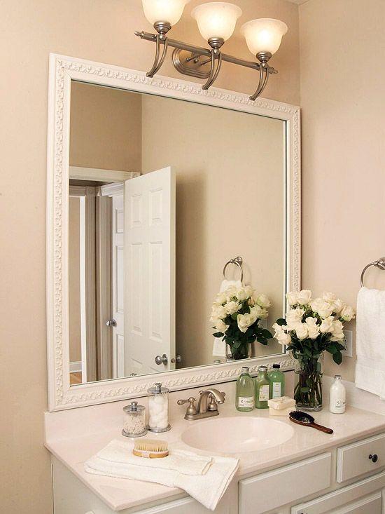 Bathroom Mirror Trim 17 best mirror trim ideas images on pinterest | mirror trim, home