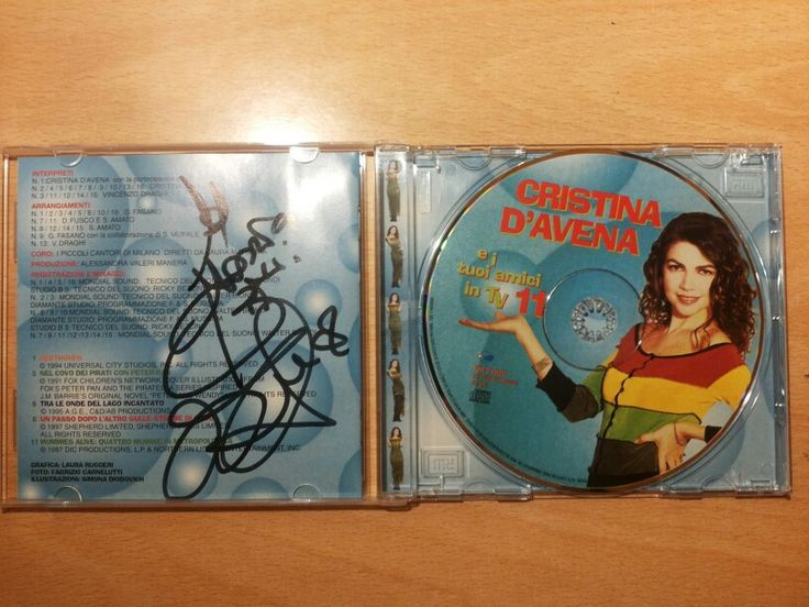 Cristina D'Avena e i tuoi amici in tv 11 + autografo