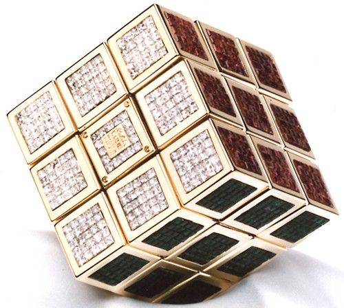 Fashion*Jewellery*Modern | Rosamaria G Frangini || The World's most expensive Rubik's Cube - $1.5 million - Covered in diamonds***