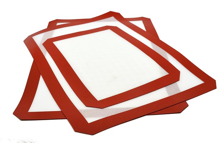 CookEasy Premium Silicone Baking Mats - Set of 3 - 2 Full Size Mats (16.5x11.5) and 1 Half Sheet Mat (11.5x8.5) - Non-Stick Heat Resistant Kitchen Liners >>> Instant Savings available here : Baking Accessories
