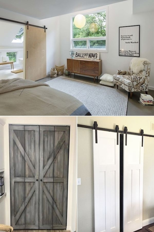Barn Doors For Homes Large Interior Barn Doors Barn Door Trolley Hardware Exterior Barn In 2020 Door Hardware Interior Sliding Doors Interior Barn Doors For Sale