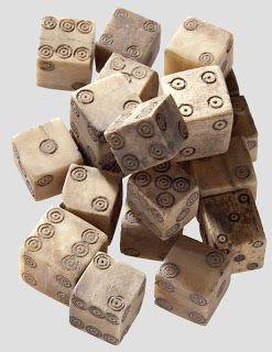 Viking Dice and explanation on how to make them. Gift idea for a special plunderer?