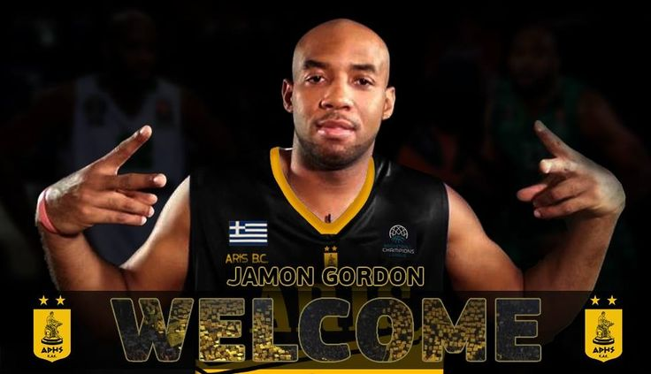 Παικτης του ΑΡΗ ο Jamon Gordon | Aris BC - Official Page & Online Store