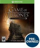 Game of Thrones - A Telltale Game Series - PRE-Owned - Xbox One, Multi