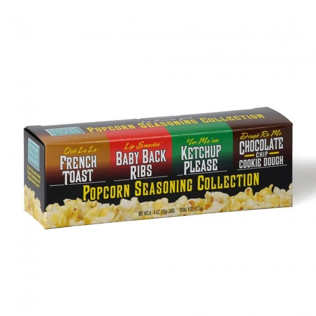 Flavour your popcorn for a tasty treat with this set of Wabash Valley Farms Gourmet Popcorn Seasoning.