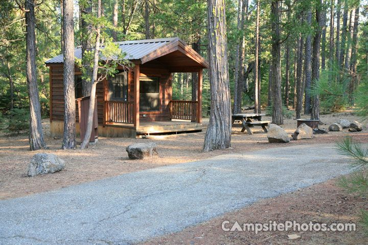 Mcarthur Burney Falls Memorial State Park Campsite