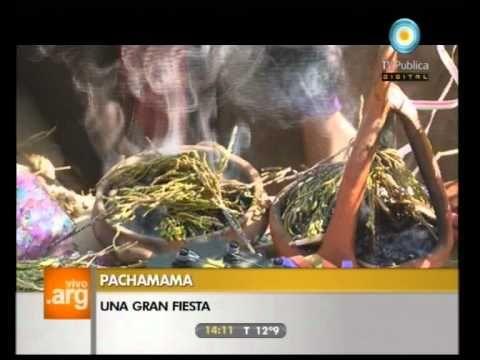 Vivo en Argentina: Jujuy: Fiesta de la Pachamama - 08-08-11 (1 de 2)
