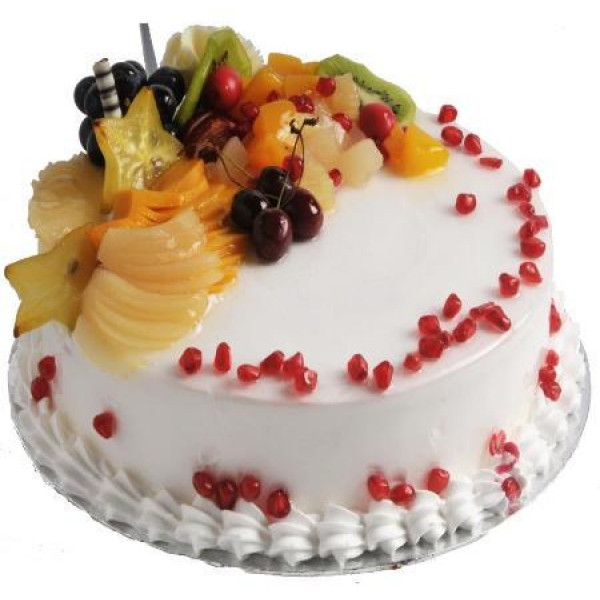 #Fresh #FruitCake You can send this delicious 1/2 Kg fresh fruit cake to make your loved ones happy. It is quite an easy way to make him feel #special.