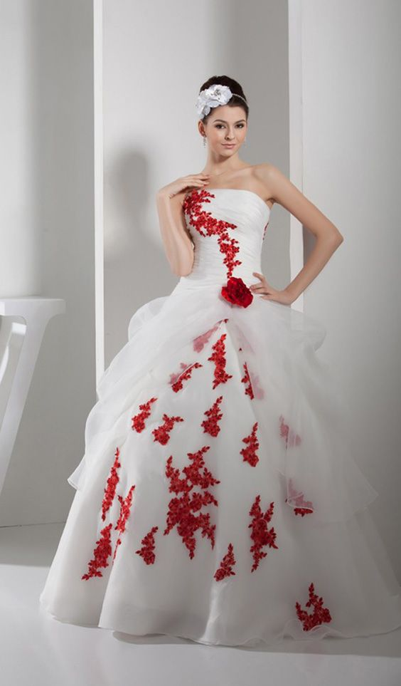 Learn Red Wedding Dresses Meaning And Ideas Before Breaking The Rule Red Wedding Dresses Satin Wedding Gown Corset Back Wedding Dress