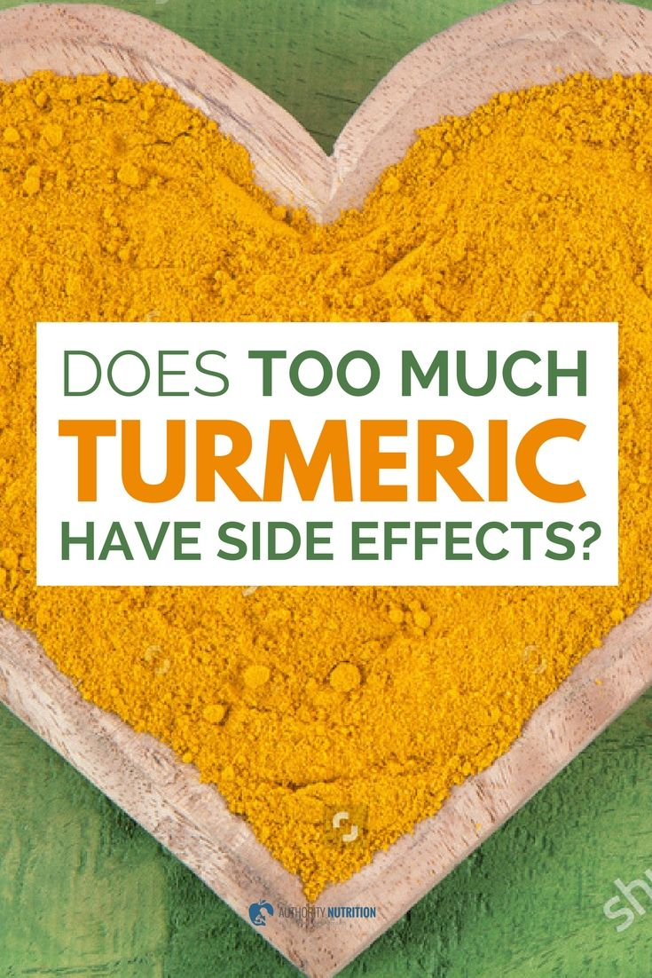 Turmeric is a popular spice that contains curcumin, a powerful bioactive compound. This article explores whether it has any side effects at high doses: https://authoritynutrition.com/turmeric-side-effects/