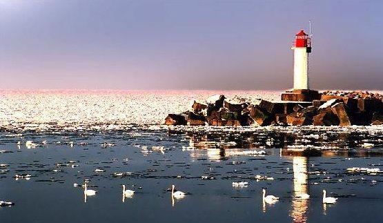 Ventspils Lighthouse Landscape