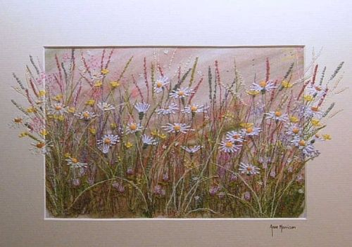 embroidery and watercolour landscape images - Google Search