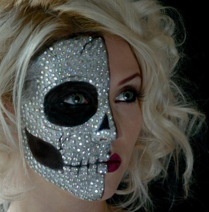 pixie body face painter wwwcontrabandeventscom sugar skull halloween makeupskull - Skull Halloween Decorations