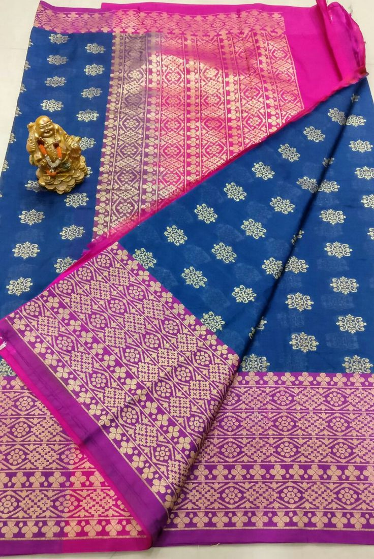 👆👆 Banars Georgette sarees with kanchi big  boders Alvor saree same design Pallu heavy Design contrast Plain blouse contact  👆💰3600+⛵ Order what's app 7093235052