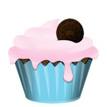 Yummy Cake Clipart : 17 Best images about Cupcakes clipart on Pinterest Clip ...