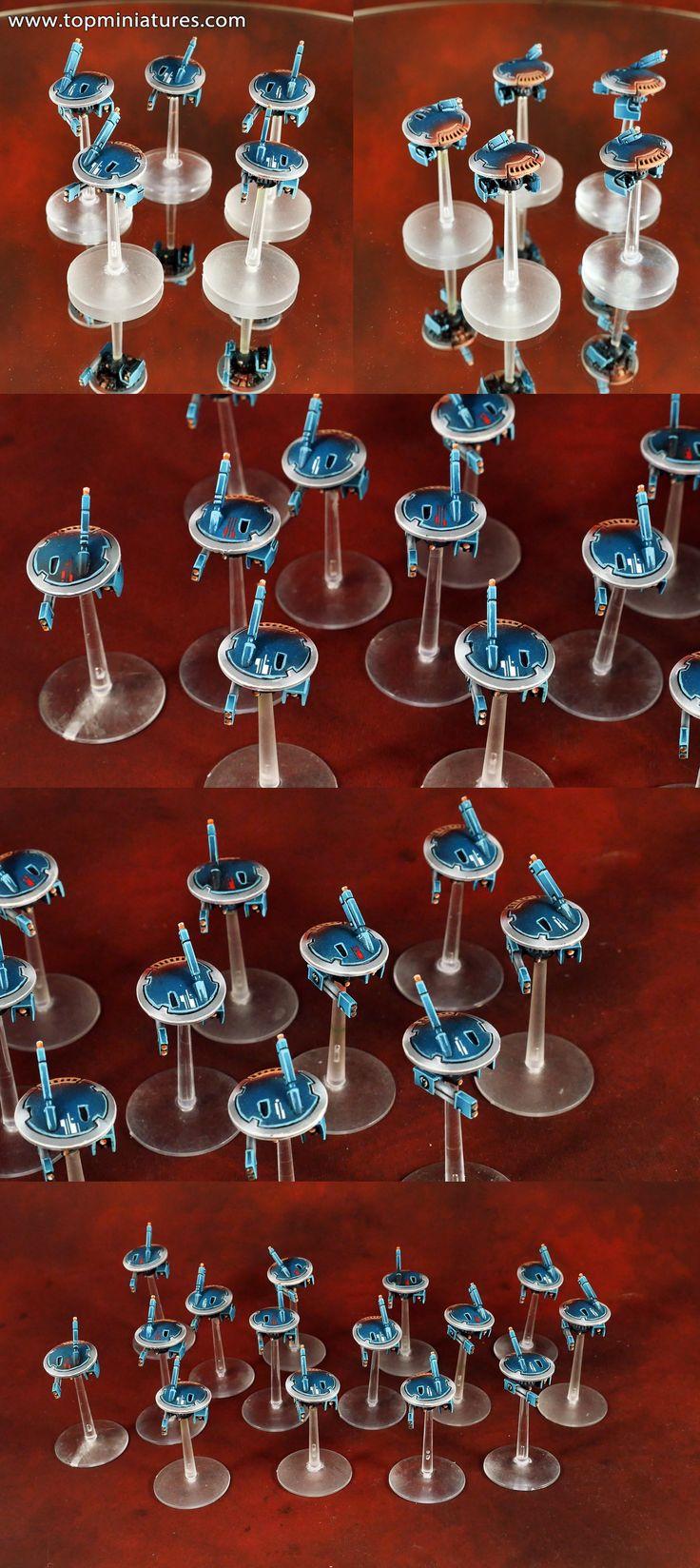 Warhammer 40k tau empire marker drones