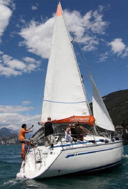Un'avventura in vela sul Lago di Garda