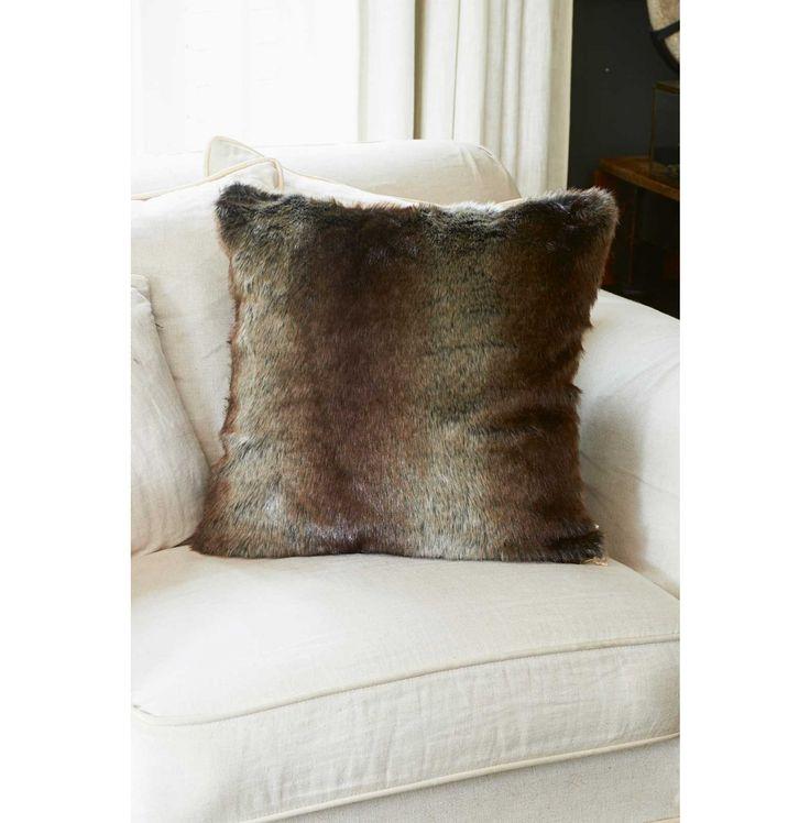 Silk Sable Faux Fur Pillow Cover 50x50 - Kussenhoezen | Rivièra Maison