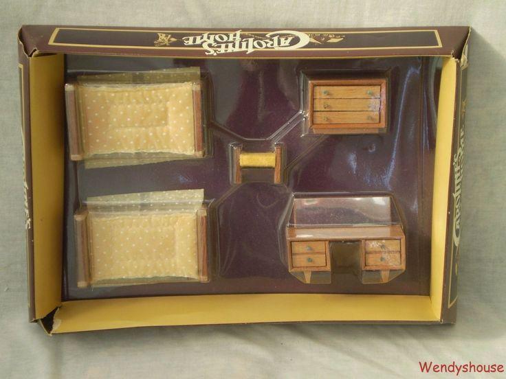 Vintage Caroline Dolls House Bedroom Furniture Used In The Childrenu0027s Room