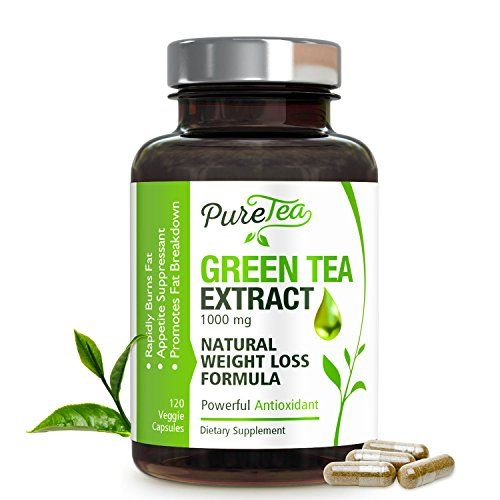 Green Tea Extract - Max Potency EGCG for Weight Loss - Boost Metabolism & Promote a Healthy Heart - Natural Caffeine for Gentle Energy - Fat Burner & Antioxidant Supplement - 120 Capsules  ✔️ NATURAL WEIGHT LOSS - Green tea has been consumed in Asian cultures for centuries and has been shown to promote healthy weight loss while also improving overall health. While there is no miracle weight loss formula, green tea extract can gently boost our metabolism and provide increased energy to ...
