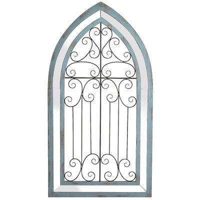 Any room turns into your secret garden when you add this arched gate. The…