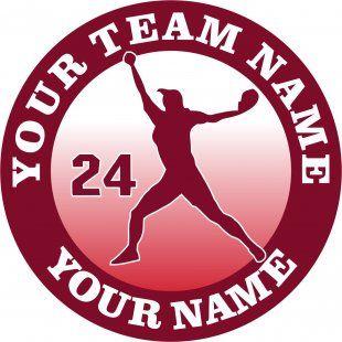 Customized Softball Logo 03