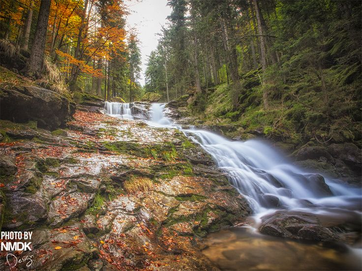 Landschaftfotografie Fotografie landscape photography waterfall Wasserfall Bayern bavaria bayrischer Wald Forest Nature NMDK Design foto photo
