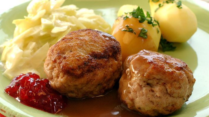 Kyllingkjøttkaker - Tradisjon - Oppskrifter - MatPrat
