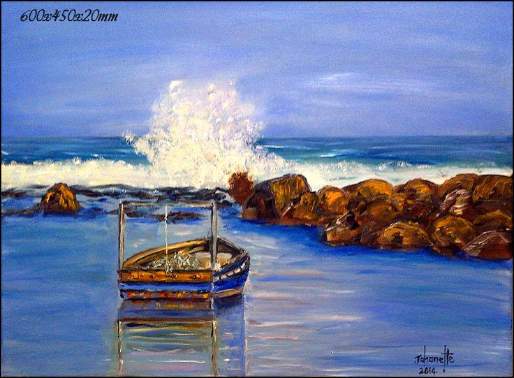 Jacobsbaai Branders Oil Painting Stretched Canvas 600x450x20mm (johanettevandeventer@gmail.com) (MY page where you can see all my paintings for sale:https://www.facebook.com/pages/Art-of-being-feminine/216215068495275?ref=hl https://www.facebook.com/media/set/?set=a.462889420494504.1073741855.216215068495275&type=3)