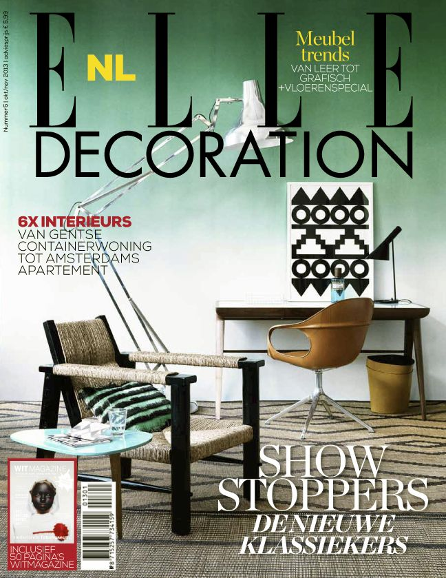 Cover ELLE Decoration NL nummer 5 2013