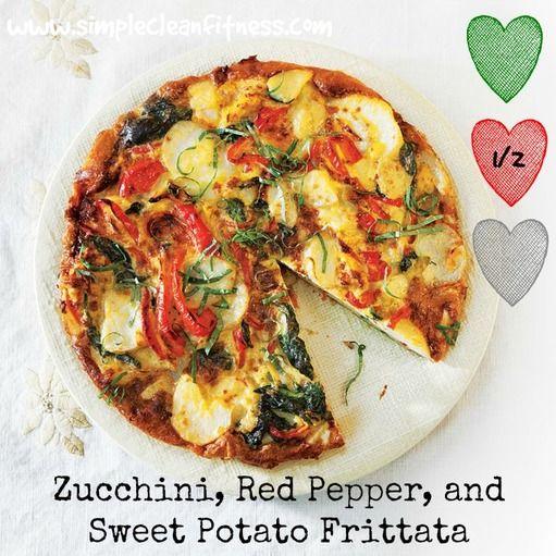Zucchini, Red Pepper, and Sweet Potato Frittata ...