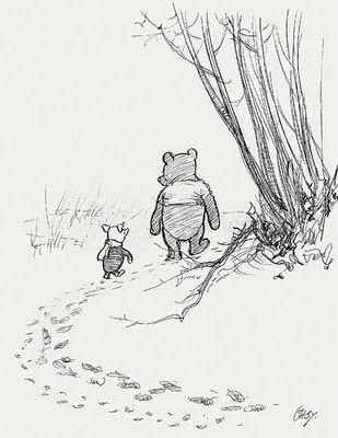 Winnie Pooh by Ernest Howard Shepard
