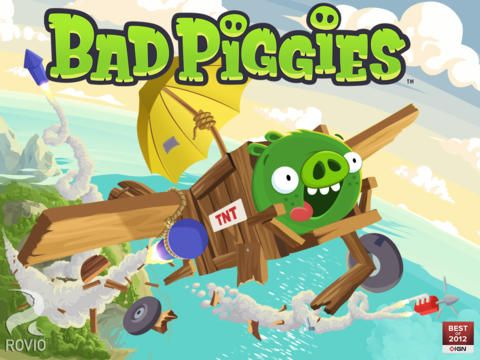 bad piggies free lustige schweinerei f r ipad und iphone. Black Bedroom Furniture Sets. Home Design Ideas