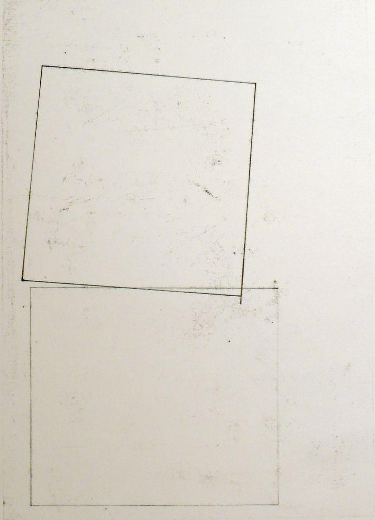 glovaskicom: Composition #29, oil transfer drawing, 19x24, Glovaski 2012