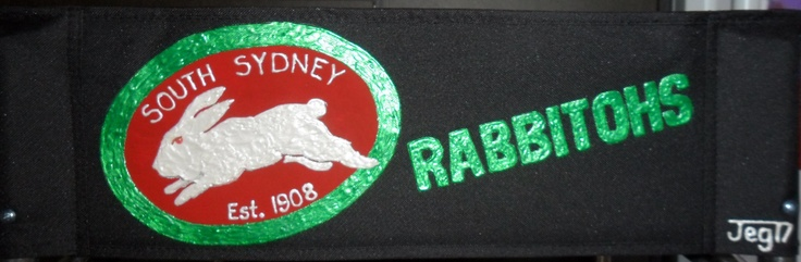 Personalised Director's Chair - South Sydney Rabbitohs - www.jeg17.com